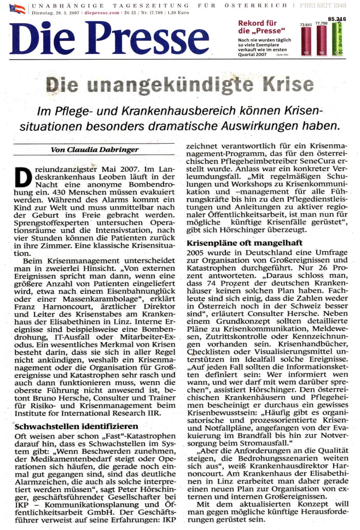 Die Presse Krima Kh