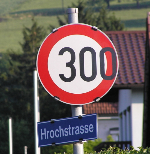 300 Km/h Hilm Detail / Zum Vergrößern auf das Bild klicken