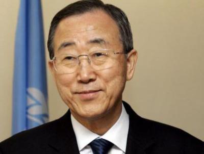 Ban Ki-Moon UN-Generalsekretär / Zum Vergrößern auf das Bild klicken