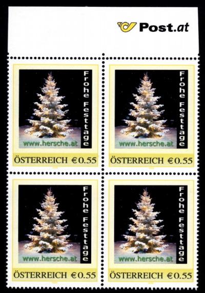 Briefmarke Frohe Festtage