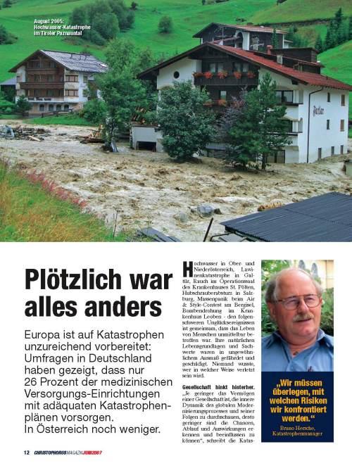 Christophorus-Magazin Sept07 Bericht Kata S1 / Zum Vergrößern auf das Bild klicken