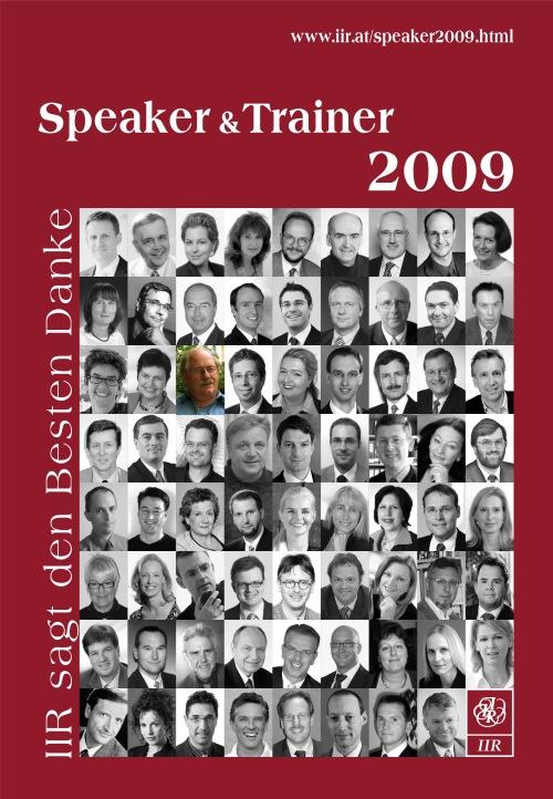 IIR Speaker & Trainer 2009 / Zum Vergrößern auf das Bild klicken