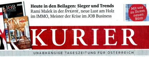 Job Business / job_kurier_titel / Zum Vergrößern auf das Bild klicken