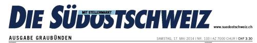 Zeitungen / Südostschweiz 140517_nur_titel_so0