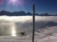 Nebelmeer Piz Martegnas / Zum Vergrößern auf das Bild klicken