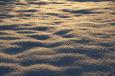 Schnee glitzert in Abendsonne / Zum Vergrößern auf das Bild klicken